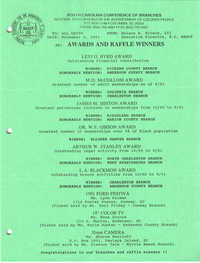 South Carolina Conference of Branches of the NAACP Memorandum, November 4, 1991