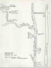 Map of Highlander Center
