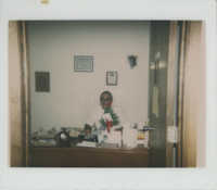 Photograph of J. Arthur Brown Seated at His Desk