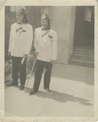 Photograph of J. Arthur Brown and Friend