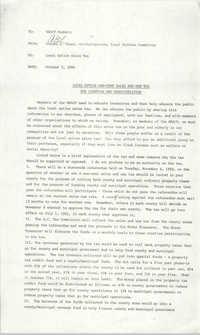 NAACP Memorandum, October 5, 1990
