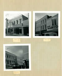 King Street Survey Photo Album, Page 10 (front): 327-339 King Street