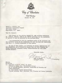 Letter from Mary R. Wrixon to Gerald A. Raynard, January 30, 1980