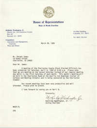 NAACP Memorandum, March 28, 1989