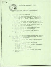 NAACP Education Department, Education Committee Planning Guide, 1982