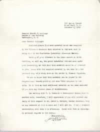 Letter from J. Arthur Brown to Ernest F. Hollings, December 1, 1969