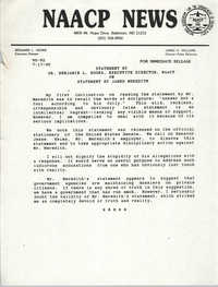 NAACP News Statement, July 17, 1990