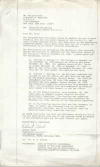 NAACP Memorandum, December 18, 1980