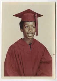 Graduation Portrait of Young Man