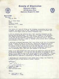 Letter from Schuyler M. Meyer, III to J. Arthur Brown, June 28, 1978