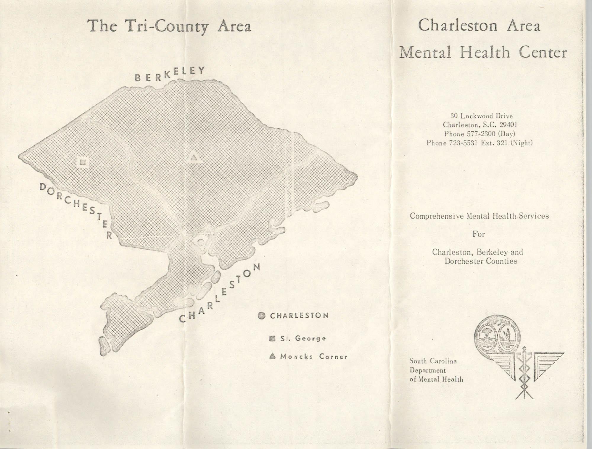 Charleston Area Mental Health Center Pamphlet