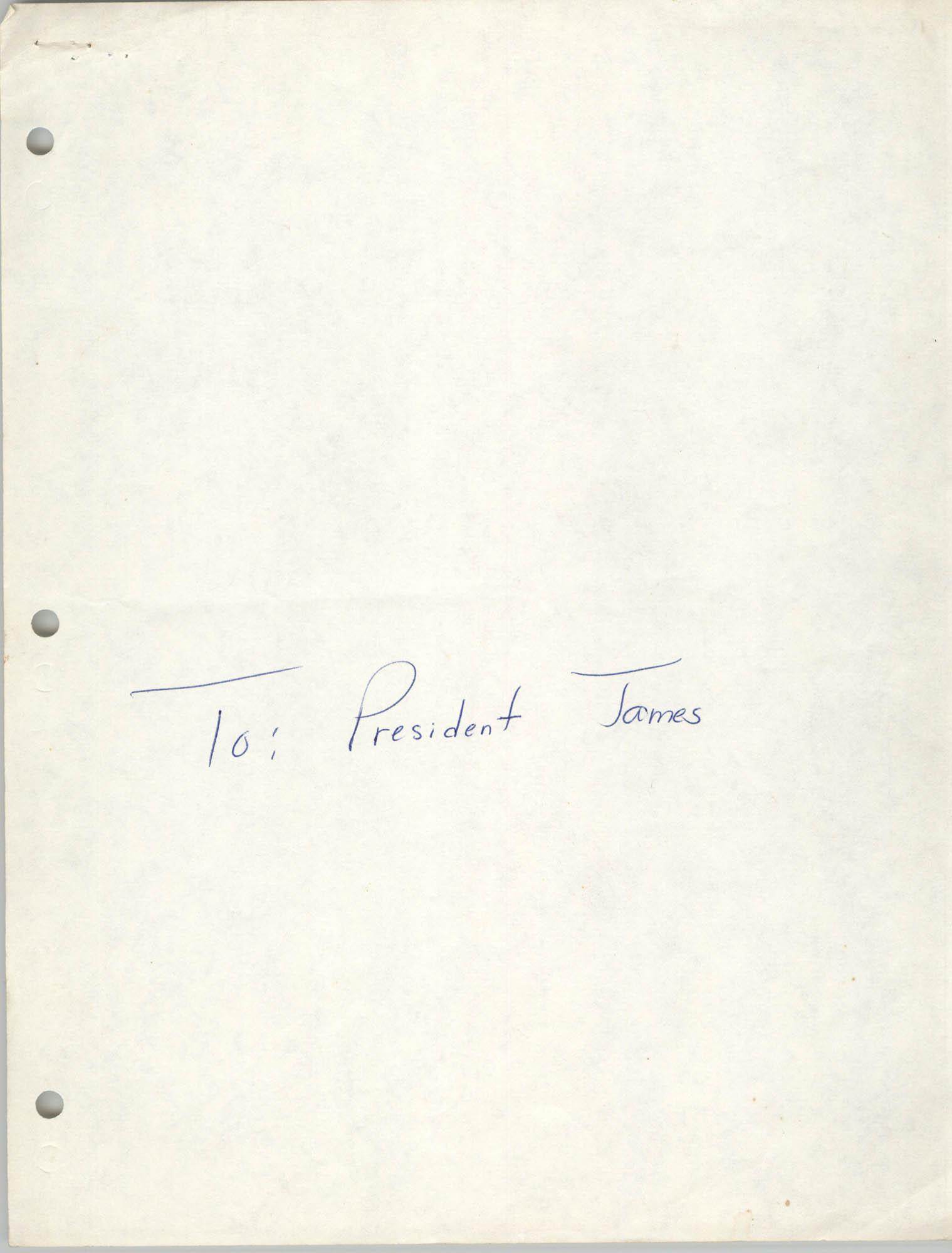 Charleston Branch of the NAACP Freedom Fund Committee Memorandum, March 3, 1989