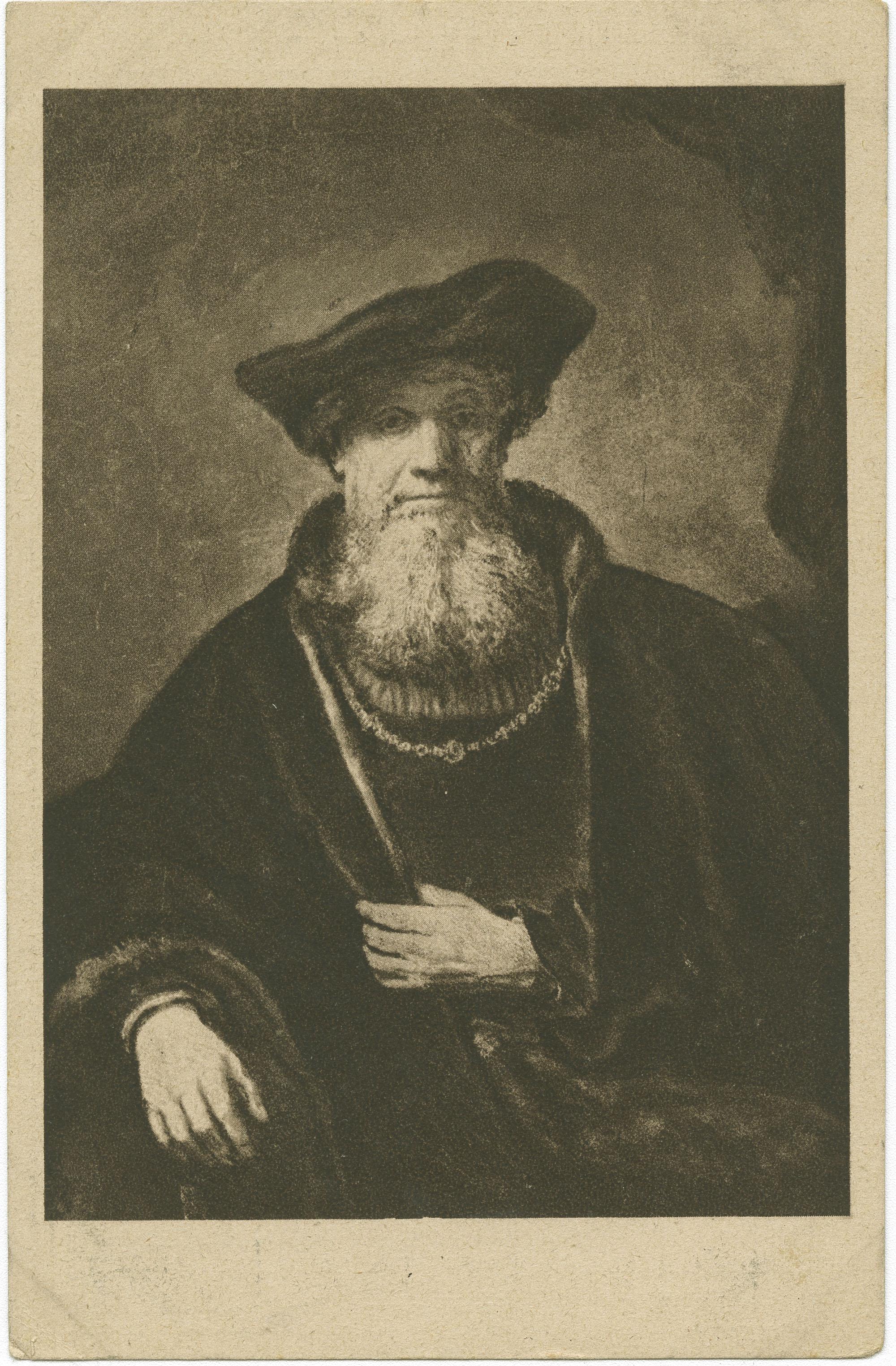 Rembrandt: Bildnis eines Rabbiners