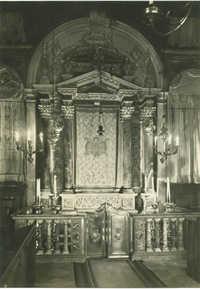 Tempio Levantino - Acra sacra contenente la Bibbia