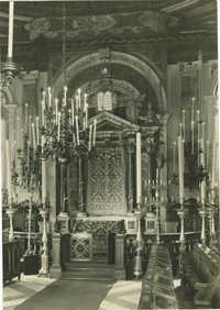 Tempio spagnolo - Acra sacra contenete la Bibbia