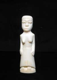Ivory woman figure