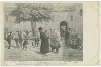 Cour de Synagogue de Campagne : le Kippour au bon vieux temps / יום כפור