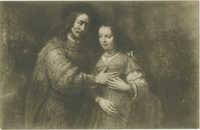 Rembrandt van Rijn. Het Joodsche bruidje / The Jewish bride / La Fiancée juive / Jüdische Braut