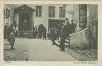 Wilna. Die alte Jüdische Synagoge.