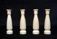 Ivory candlesticks