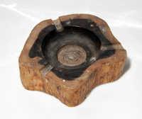 Ebony ashtray