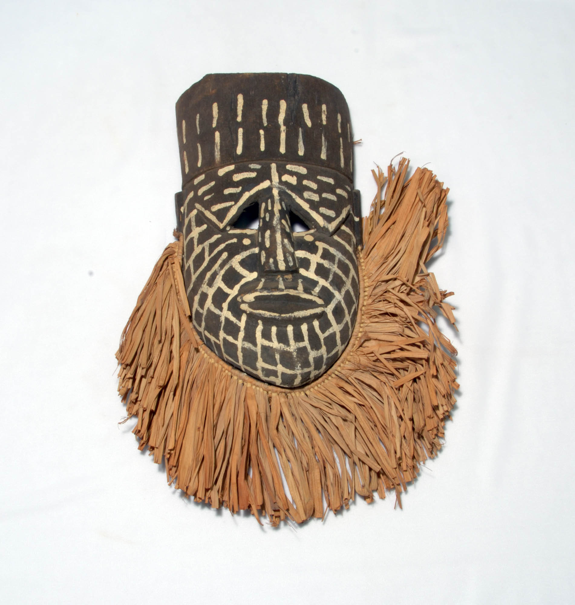 Wooden Ndaka mask