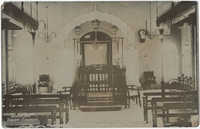 Karachi Synagogue, interior view