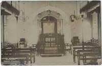 Karachi Synagogue, interior view