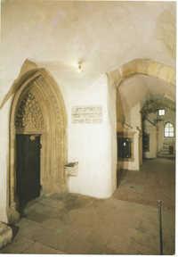 Praha. Staronová synagoga / předsíň