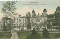 Marienbad. Kronprinz Rudolf Stiftung und Tempel.