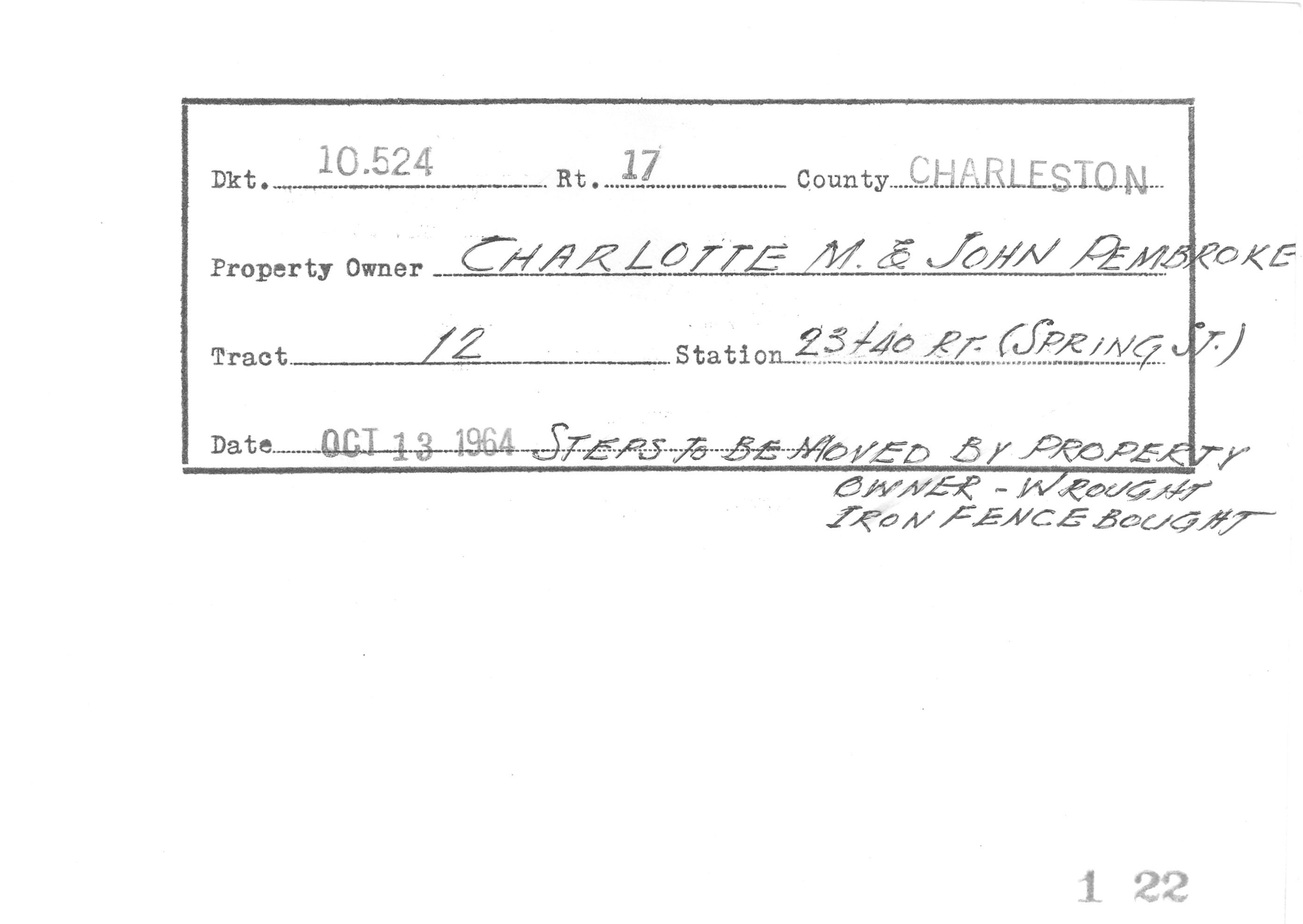 Example of Surveyor Notes 5
