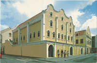 Curacao, Netherlands Antilles. Synagogue Mikve Israel-Emanuel - dedicated in 1732 - oldest in the Western Hemisphere.