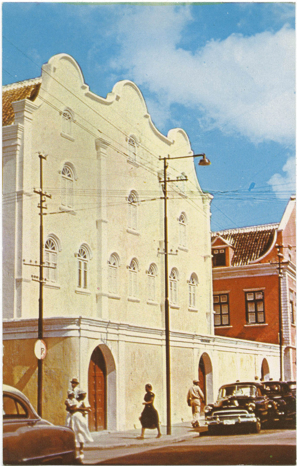 Willemstad, Curacao. Built in 1732, the  Mikve Israel Synagogue on Columbusstraat is the oldest Jewish house of worship in the Western Hemisphere.