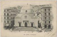 Alger - La Sinagogue