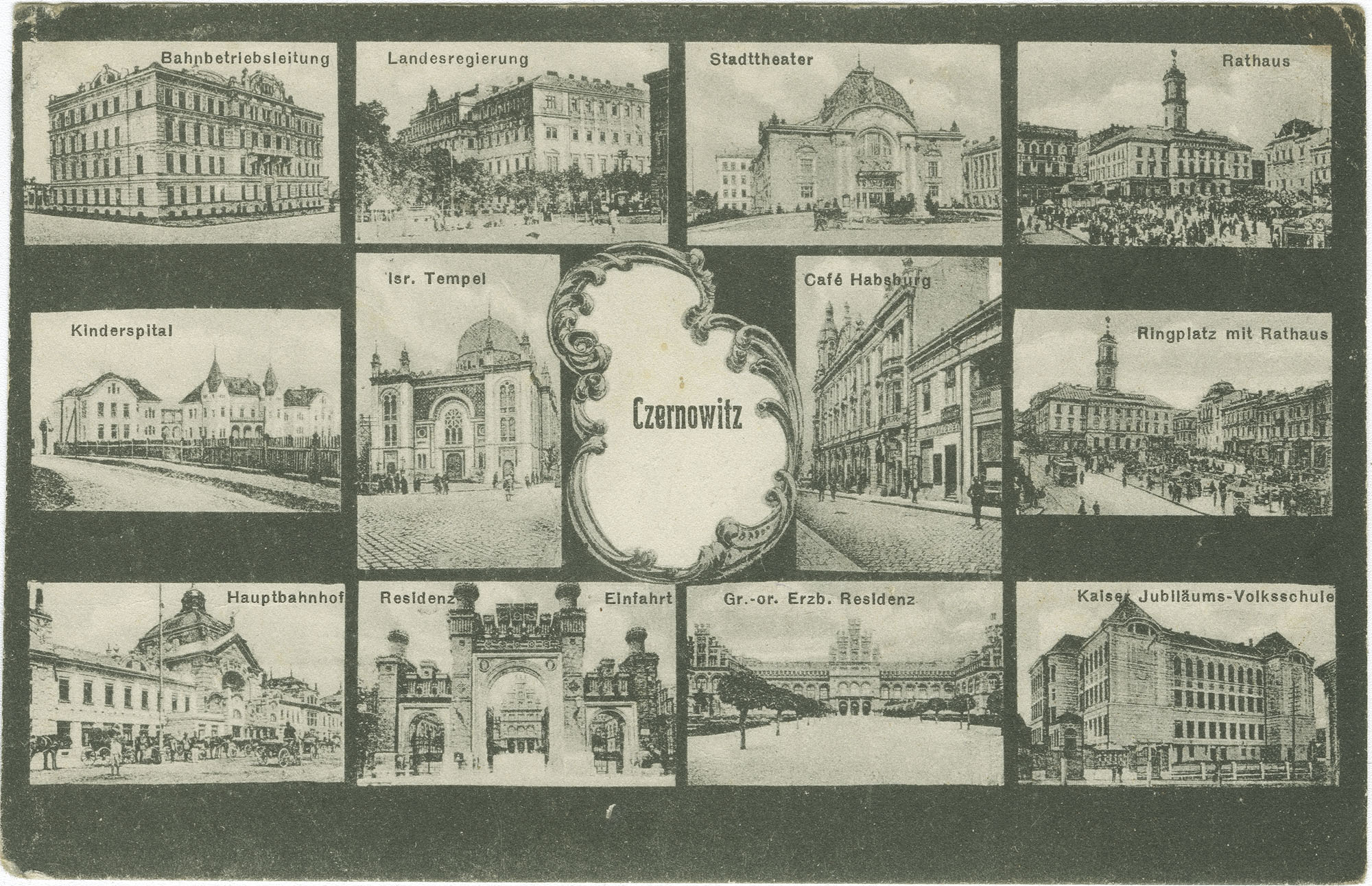 [Landmarks of Czernowitz]