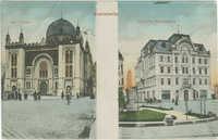 Czernowitz. Isr. Tempel. Jüdisches Nationalhaus.
