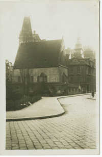 [Prague. The Old New Synagogue.]
