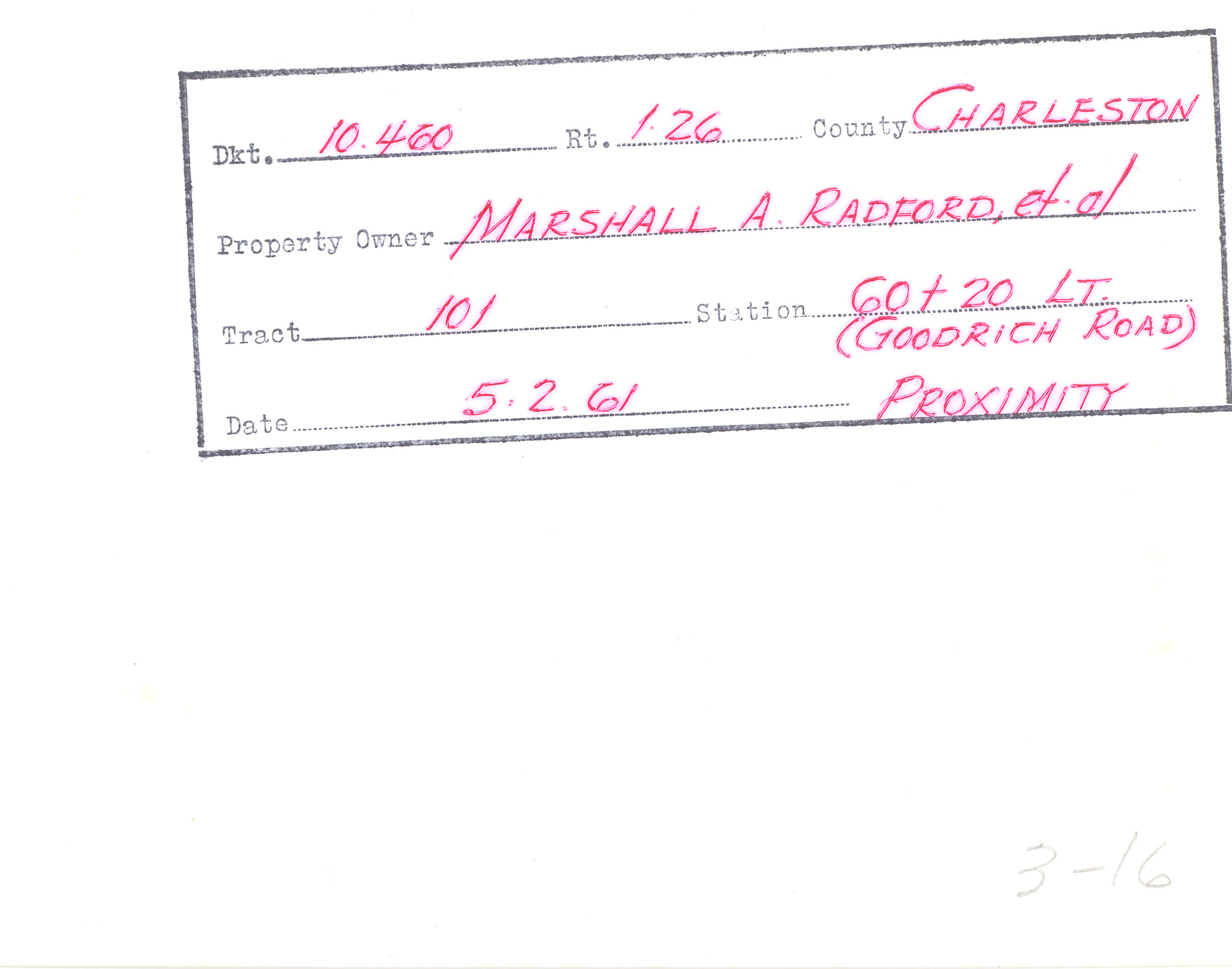 Example of Surveyor Notes 2