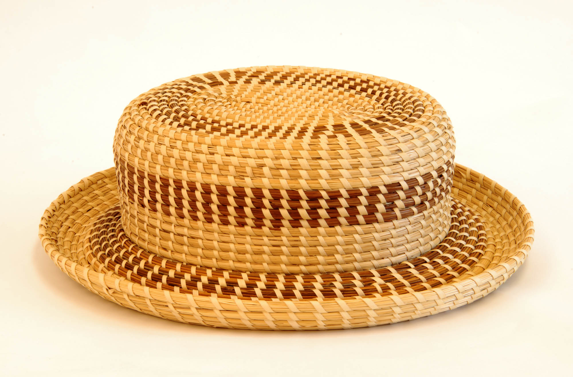 Sweetgrass hat (Contemporary sweetgrass basket)