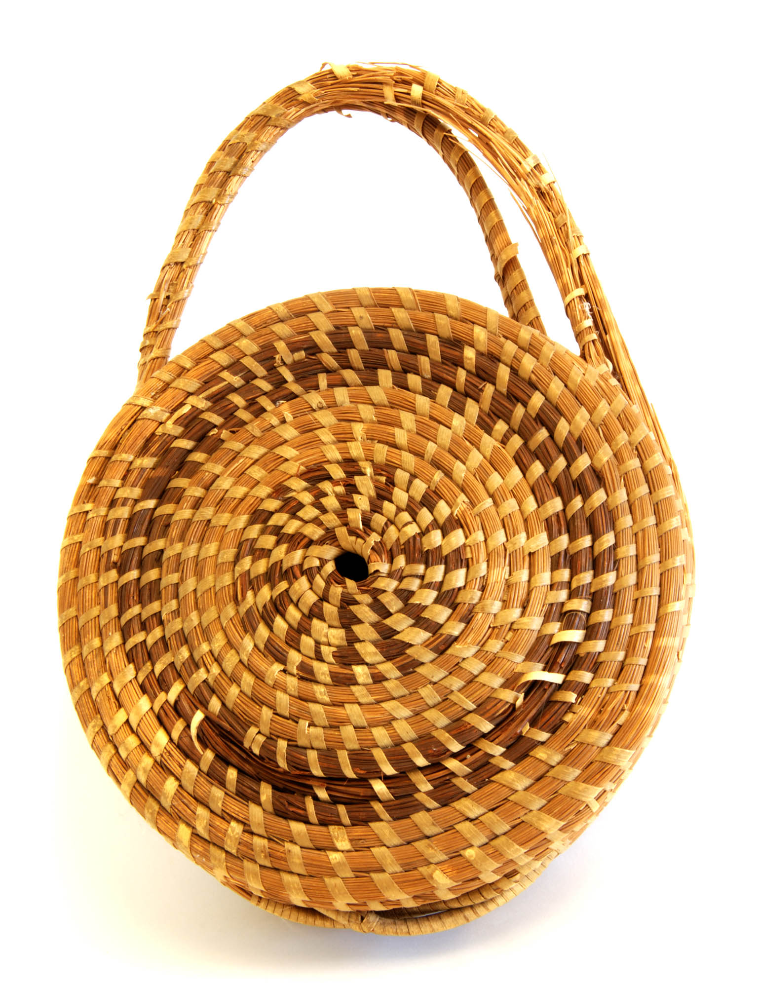 Sweetgrass sewing basket