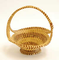 Sweetgrass basket (Fruit basket)