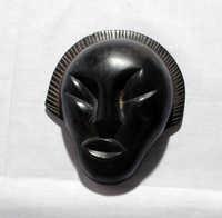 Soapstone head