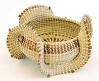 All-purpose sweetgrass basket