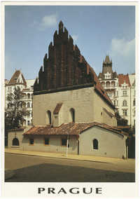 Prague. Old New Synagogue.