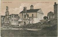 Kalisch 1914/15. Ruinen auf dem Roßmarkt.
