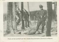 Foto uit het archief van het Joods Documentatie Centrum te Wenen