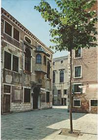 Venezia -- Ghetto Vecchio -- Facciata della Scuola Levantina (1538)