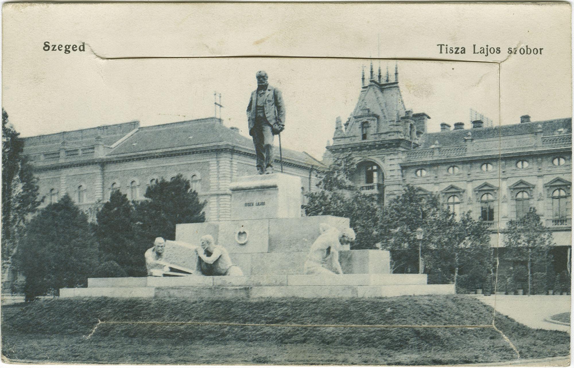 Szeged. Tisza Lajos Szobor.