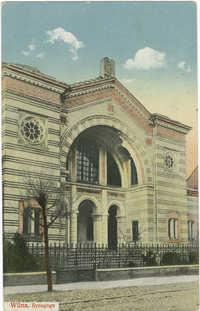 Wilna. Synagoge.