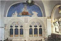 ארון הקודש בבית הכנסת ע''ש רבן יוחנן בן זכאי בעיר העתיקה בירושלים